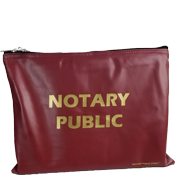 BAG-NP-LG-BRG - Large Notary Supplies Bag<br>(Burgundy)