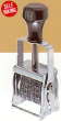 "CFBD 30C - Comet #30 Self-Inking Flat Band Dater, Size 0 (3/32"") Dates with 1/4"" by 1-5/8"" Die Space Above & Below Dates."