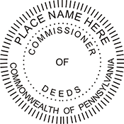 Commissioner of Deeds - Pennsylvania<br>COMM-PA