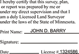 LANDSURV-MN - Land Surveyor - Minnesota<br>LANDSURV-MN