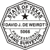 Land Surveyor - Texas<br>LANDSURV-TX