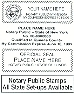 "NP14 Notary Stamp 5/8"" x 2-7/16"""