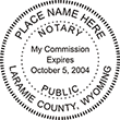 NP-WY - Notary Public Wyoming - NP-WY