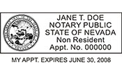 NPS-NV-2 - Notary Public Nevada - NPS-NV-2