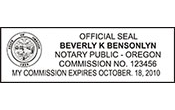 NPS-OR - Notary Public Oregon - NPS-OR