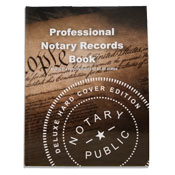 NRB-HC - Deluxe Professional Notary Records Book&trade;<br>(Hard Cover)