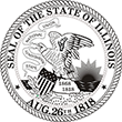SS-IL - State Seal - Illinois<br>SS-IL