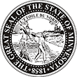 SS-MN - State Seal - Minnesota<br>SS-MN