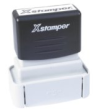 "XSF10 - X-Stamper F10 Industrial Pre-Inked Stamp -1/2"" BY 1-5/8"" MUST SHIP UPS GROUND"