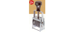 Comet Flat Band Self-Inking Dater With Die Plate (Also available with number and letter wheels, Call 888-606-4579)