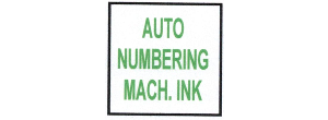 AUTOMATIC NUMBERING MACHINE INK AND COLORBOX PADS