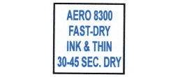 8300 INK FOR SELF INKERS MUST SHIP UPS GROUND