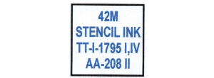 42M (FORMERLY 1045) STENCIL INK