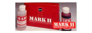 MARK II AND 1250 INK AND REACTIVATOR (MUST SHIP UPS GROUND)****DUE TO A MANUFACTURER DELAY, KITS WITH DRY PAD AND BLACK PADS ARE NOT AVAILABLE AT THIS TIME.**
