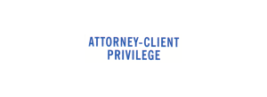 1816 - 1816 ATTORNEY-CLIENT PRIVILEGE Stock XStamper