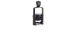"Professional Line Trodat self inking dater, 1-3/4"" diameter."