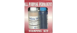 KITAPPERM - All Purpose Permanent Stamp Kit - Must Ship UPS Ground.