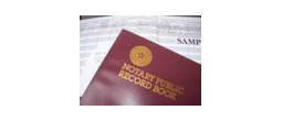 NOTARY JOURNAL - Notary Public Record Book (Journal)