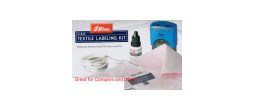 TEXTILE TL842 - TEXTILE LABELING KIT BY SHINY (MUST SHIP UPS GROUND)