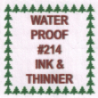 INVISIBLE INK - WATERPROOF