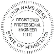 Licensed Professional Stamps of all types, meet all state requirements